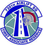 STICKER USAF 730th AIRLIFT SQUADRON