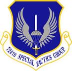STICKER USAF 724th Special Tactics Group Emblem