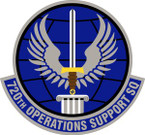 STICKER USAF 720th Operations Support Squadron Emblem