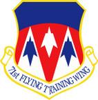 STICKER USAF 71ST FLYING TRAINING WING