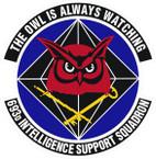 STICKER USAF 693rd Intelligence Squadron Emblem