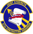 STICKER USAF 673rd Contracting Squadron Emblem