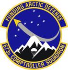STICKER USAF 673rd Comptroller Squadron Emblem