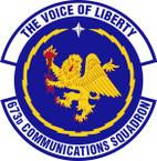 STICKER USAF 673rd Communications Squadron Emblem