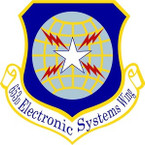 STICKER USAF 653RD ELECTRONIC SYSTEMS WING