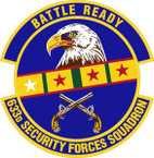 STICKER USAF 633rd Security Forces Squadron