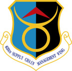 STICKER USAF 635TH SUPPLY CHAIN OPPERATION WING