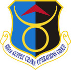 STICKER USAF 635th Supply Chain Operations Group Emblem