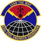 STICKER USAF 633rd Civil Engineer Squadron Emblem