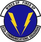 STICKER USAF 633rd Communications Squadron Emblem