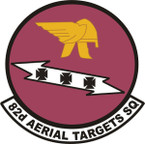 STICKER USAF 62ND AERIAL TARGET SQUADRON
