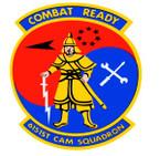 STICKER USAF 6151ST CAM SQUADRON