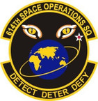 STICKER USAF 614th Expeditionary Space Operations Squadron Emblem