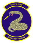 STICKER USAF 56TH SECURITY FORCES SQUADRON