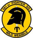 STICKER USAF 561st Joint Tactics Squadron Emblem