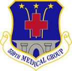 STICKER USAF 559th Medical Group Emblem