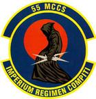STICKER USAF 55th Command and Control Squadron