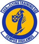 STICKER USAF 558TH FLYING TRAINING SQUADRON