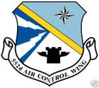 STICKER USAF 552ND AIR CONTROL WING
