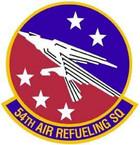 STICKER USAF 54th Air Refuling Squadron