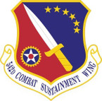 STICKER USAF 542nd Combat Sustainment Wing Emblem