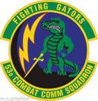 STICKER USAF 53rd Combat Communications Squadron Emblem