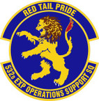STICKER USAF 532nd Expeditionary Operations Squadron Emblem