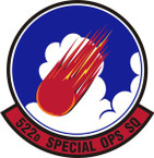 STICKER USAF 522nd Special Operations Squadron Emblem