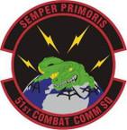 STICKER USAF 51st Combat Communications Squadron Emblem