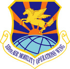 STICKER USAF 515TH AIR MOBILITY OPERATIONS WING