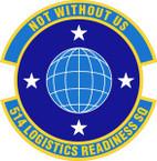 STICKER USAF 514th Logistics Readiness Squadron Emblem