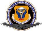 STICKER USAF 509TH WHITEMAN BOMB WING