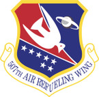 STICKER USAF 507TH AIR REFUELING WING