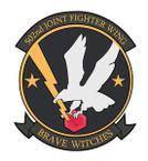 STICKER USAF 502ND FIGHTER WING