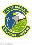 STICKER USAF 4TH COMBAT CAMERA SQUADRON