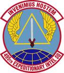 STICKER USAF 495th Expeditionary Intelligence Squadron Emblem