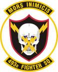 STICKER USAF 493RD FIGHTER SQUADRON