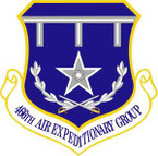 STICKER USAF 466th Air Expeditionary Group