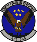 STICKER USAF 461st Operations Support Squadron Emblem