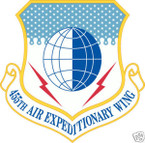 STICKER USAF 455TH AIR EXPEDITIONARY WING