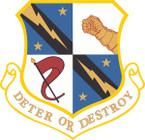 STICKER USAF 454TH BOMBARDMENT WING