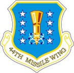 STICKER USAF 44TH MISSILE WING
