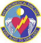 STICKER USAF 445th Aeromedical Evacuation Squadron
