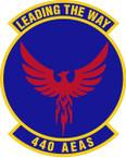 STICKER USAF 440th Air Expeditionary Advisory Squadron Emblem