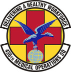 STICKER USAF 436th Medical Operations Squadron Emblem