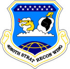 STICKER USAF 4080TH STRAT RECON WING