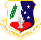 STICKER USAF 390TH STRATEGIC MISSILE WING