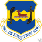 STICKER USAF 386TH AIR EXPEDITIONARY WING