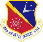STICKER USAF 379TH AIR EXPEDITIONARY WING