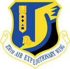 STICKER USAF 376TH AIR EXPEDITIONARY WING